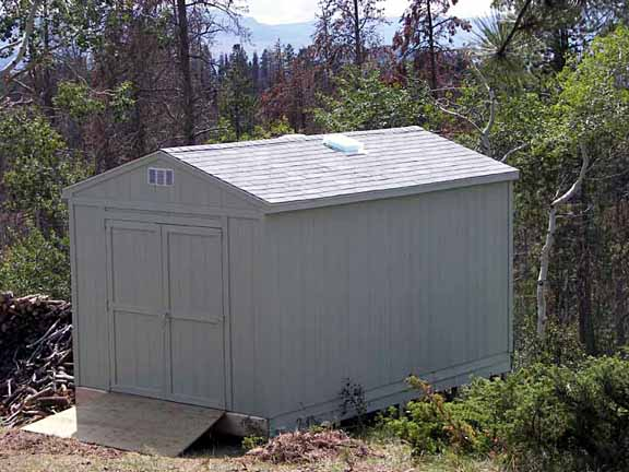 how to move a shed on concrete