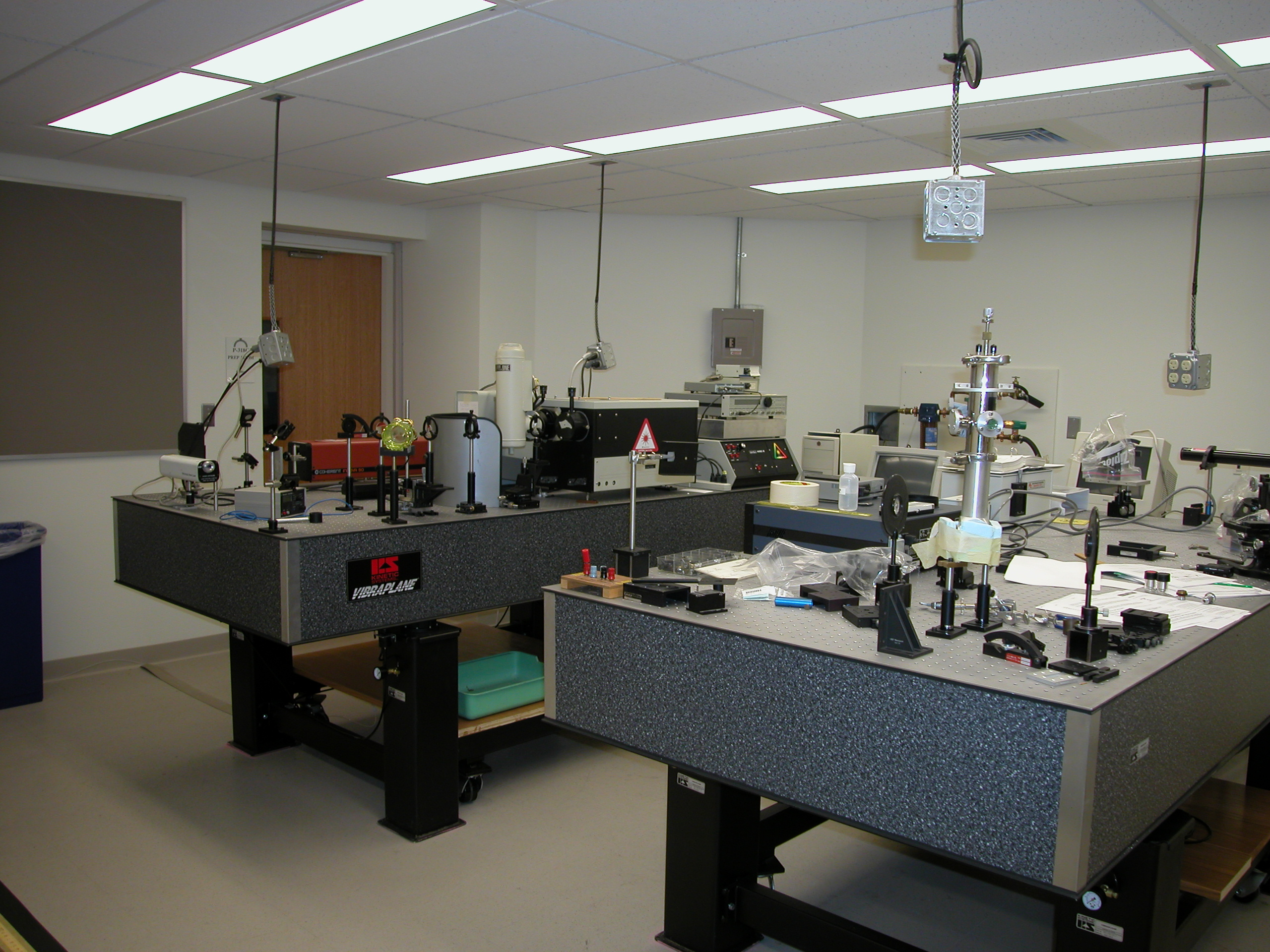 Optical Spectroscopy Lab